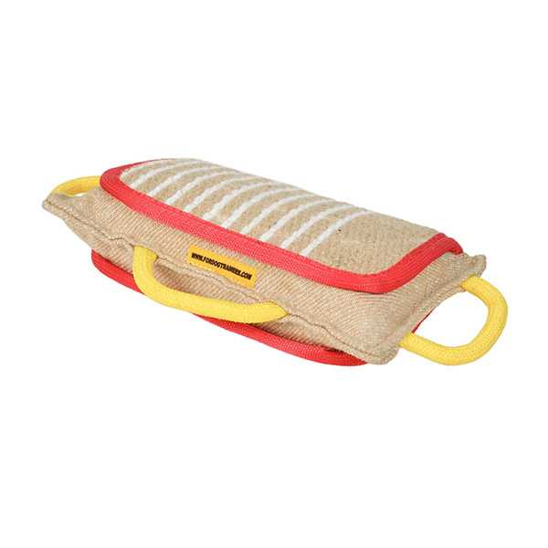 Durable Jute Bite Pad for Effective Dog Training